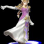 super smash brothers character princess zelda