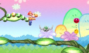 screenshot 3DS yoshi's new island
