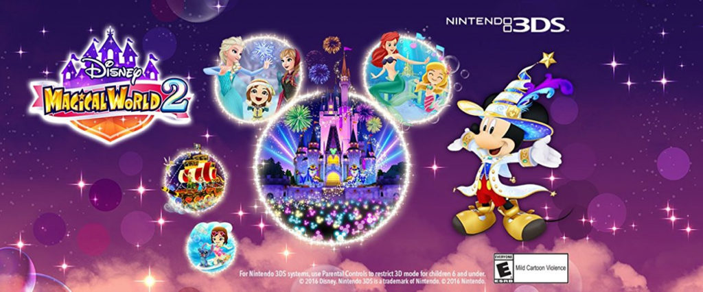 Disney Magical World 2 3DS Background