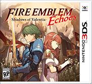 Fire Emblem Echoes Shadows of Valentia box art