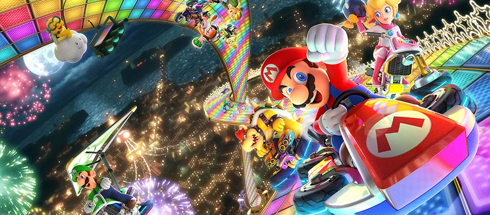 Mario Kart 8 Background: Game Details For Mario Kart 8 Deluxe On The Nintendo Switch