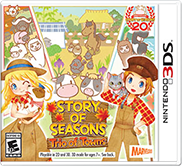 story of seasons trio of towns box art