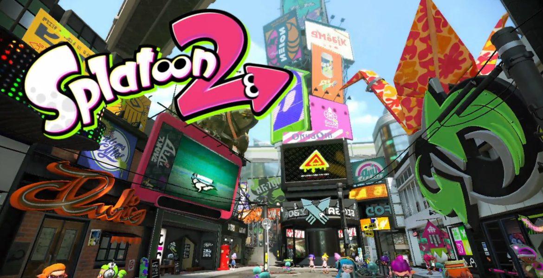 splatoon 2 logo & titlescreen