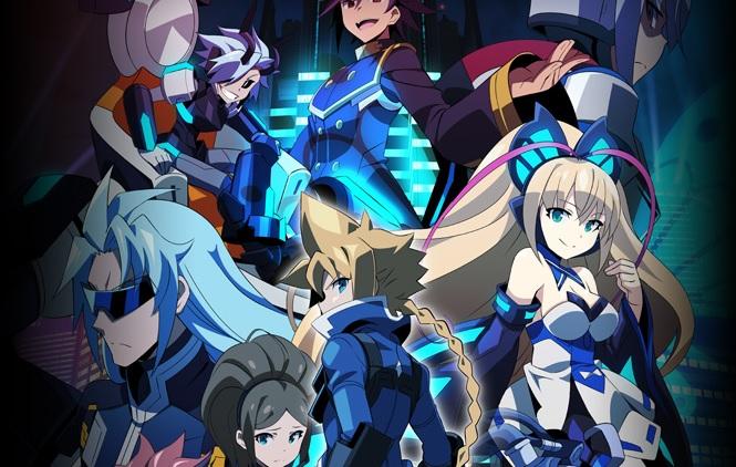 Azure Striker Gunvolt: The Anime Background
