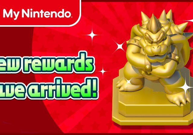 My Nintendo Gold Bowser