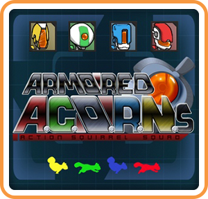 Armored ACORNs Action Squirrel Squad Wii U