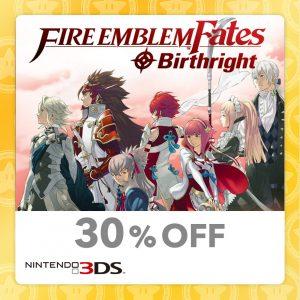 30% Off Fire Emblem Fates Birthright Nintendo 3DS