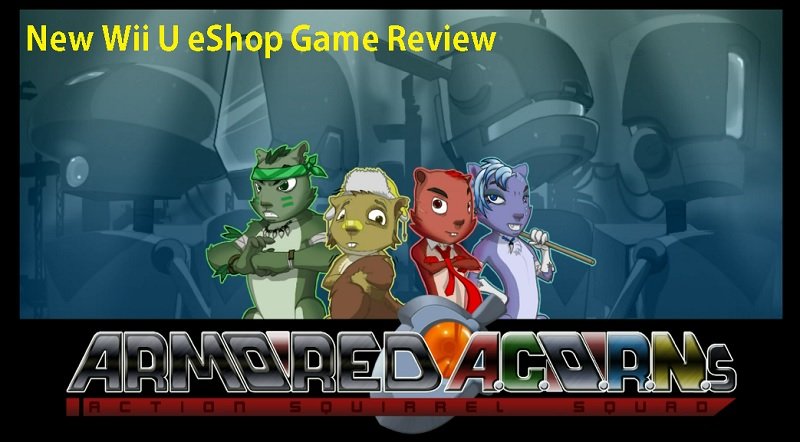Armored ACORNS Action Squirrel Squad Wii U Review