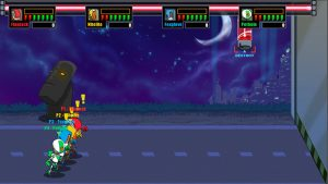 Armored ACORNs Action Squirrel Squad - Wii U Screenshot - 4 Players Co-Op