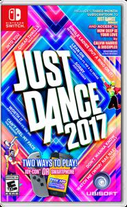 Box Art Just Dance 2017