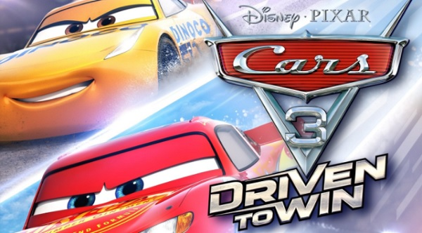 Cars 3 Title Banner