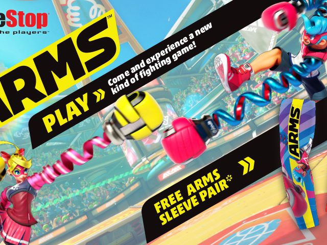 ARMS GameStop Demo