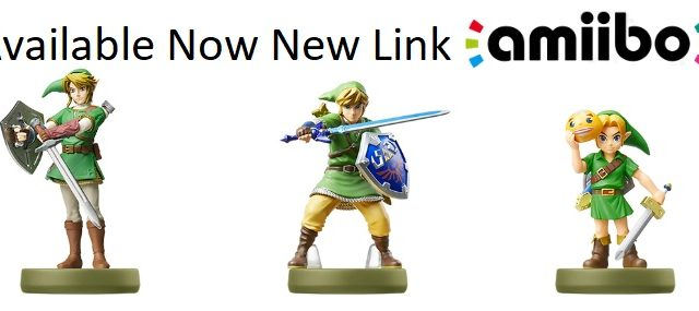 Available Now New Link amiibo - Skyward Sword, Majora's Mask and Twilight Princess June 2017