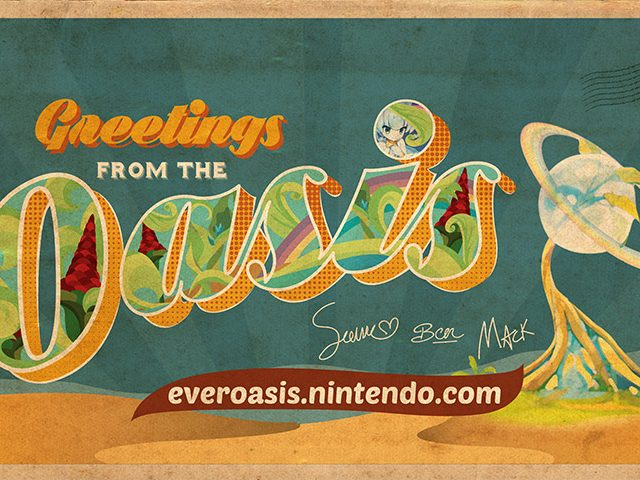 Ever Oasis Demo Background