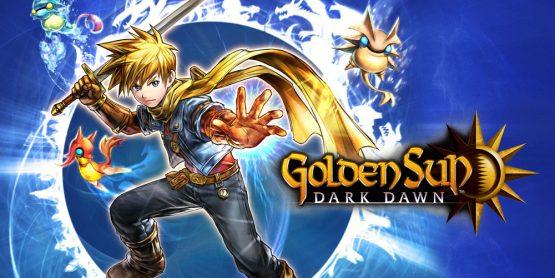 Golden Sun Dark Dawn Nintendo DS Banner