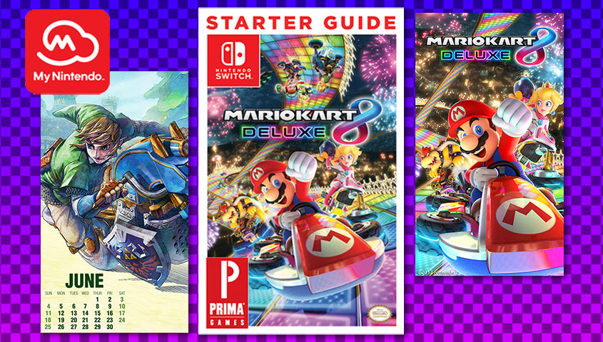 Mario Kart 8 Deluxe New My Nintendo Rewards 2017