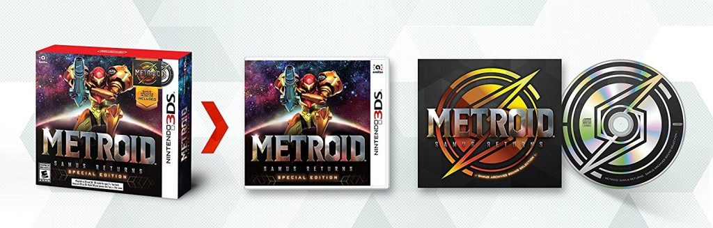 Metroid Samus Returns Special Edition with Music CD