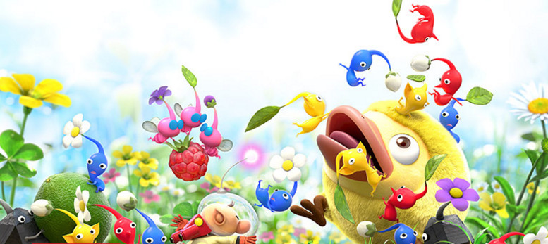 Hey! Pikmin 3DS background