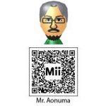 Mr. Aonuma QR Code