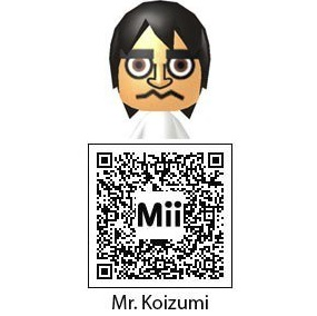 Mr. Koizumi QR Code