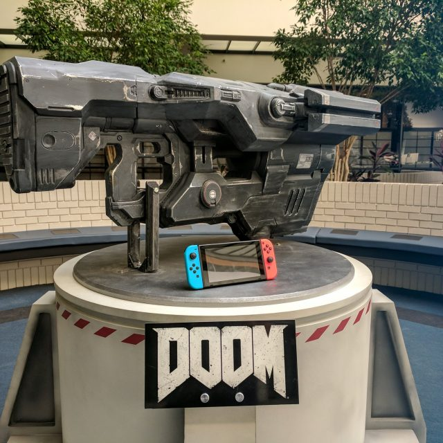 Doom Background Nintendo Switch Gun