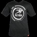 black Metroid shirt