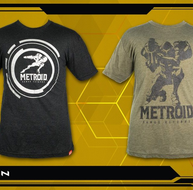 Metroid Samus Returns T-Shirts