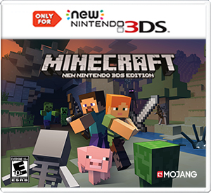 3DS Minecraft Box Art