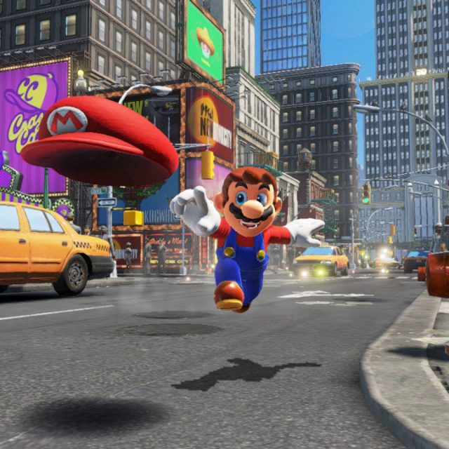 Super Mario Odyssey Download Size