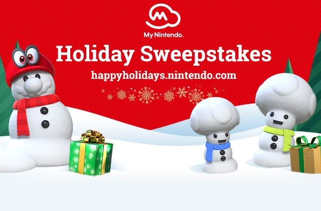 My Nintendo Holiday Sweepstakes