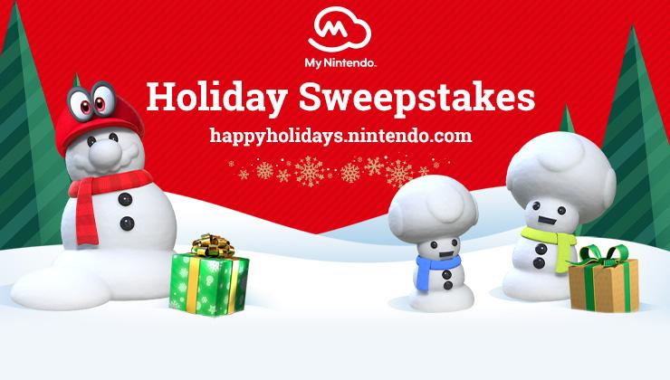 My Nintendo Holiday Sweepstakes