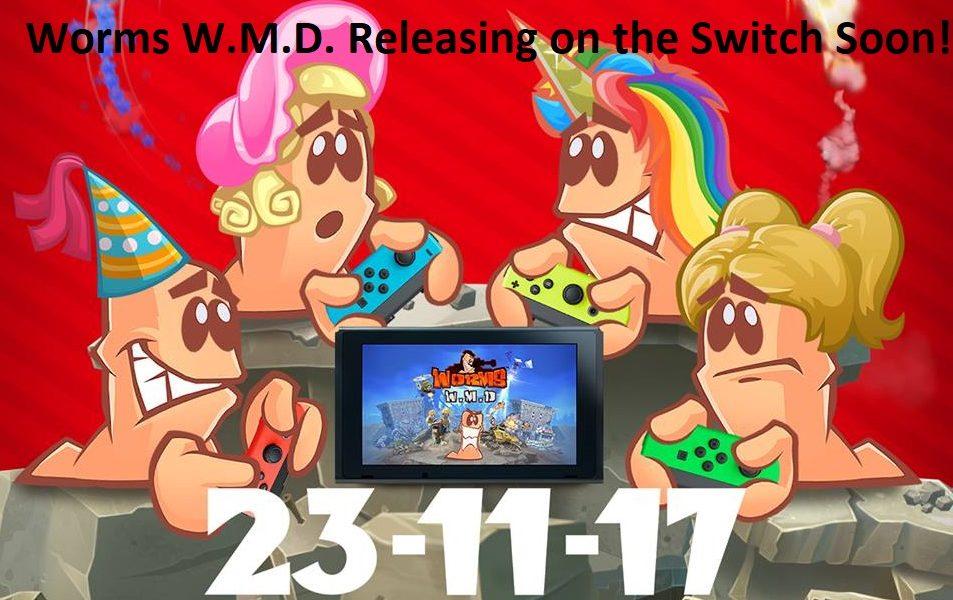 Worms W.M.D. Nintendo Switch