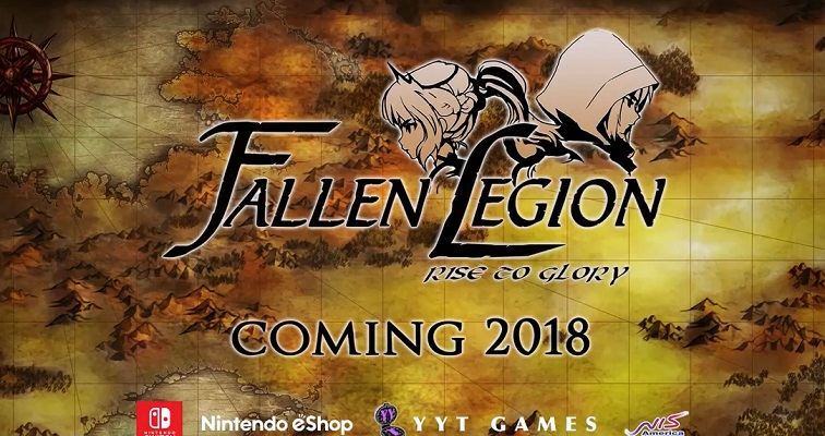 Fallen Legion: Rise to Glory Nintendo Switch announcement