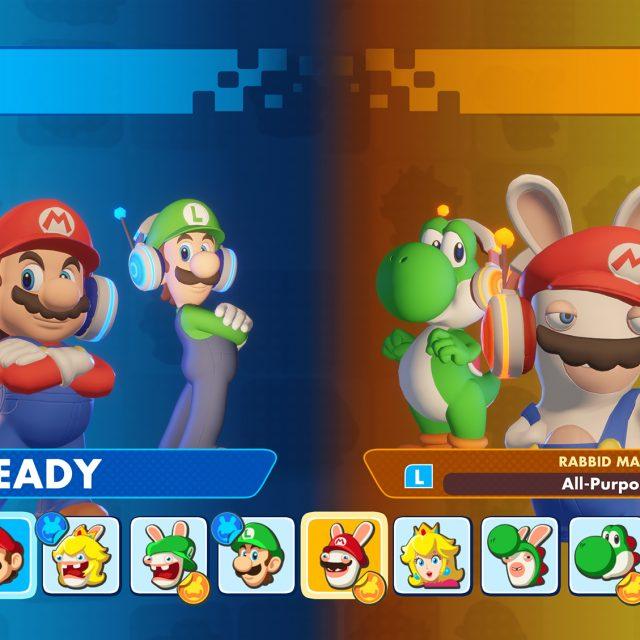 New Versus Mode in Mario + Rabbids Kingdom Battle