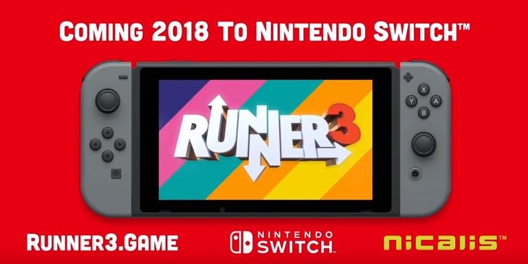 Runner3 Nintendo Switch retail release