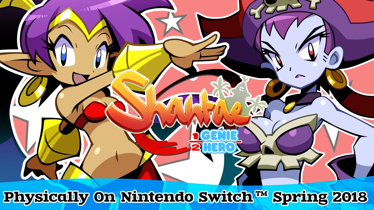 Shantae Half-Genie Hero Ultimate Day One Edition Nintendo Switch