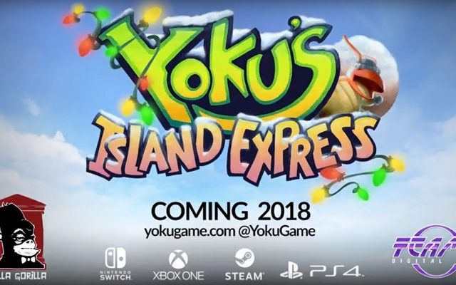 Yoku's Island Express holiday trailer