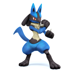super smash bros lucario