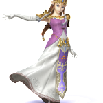 super smash brothers character princess zelda