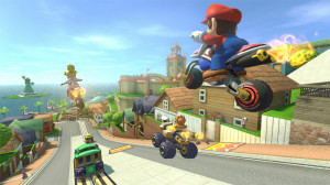 mario kart beautiful jumps