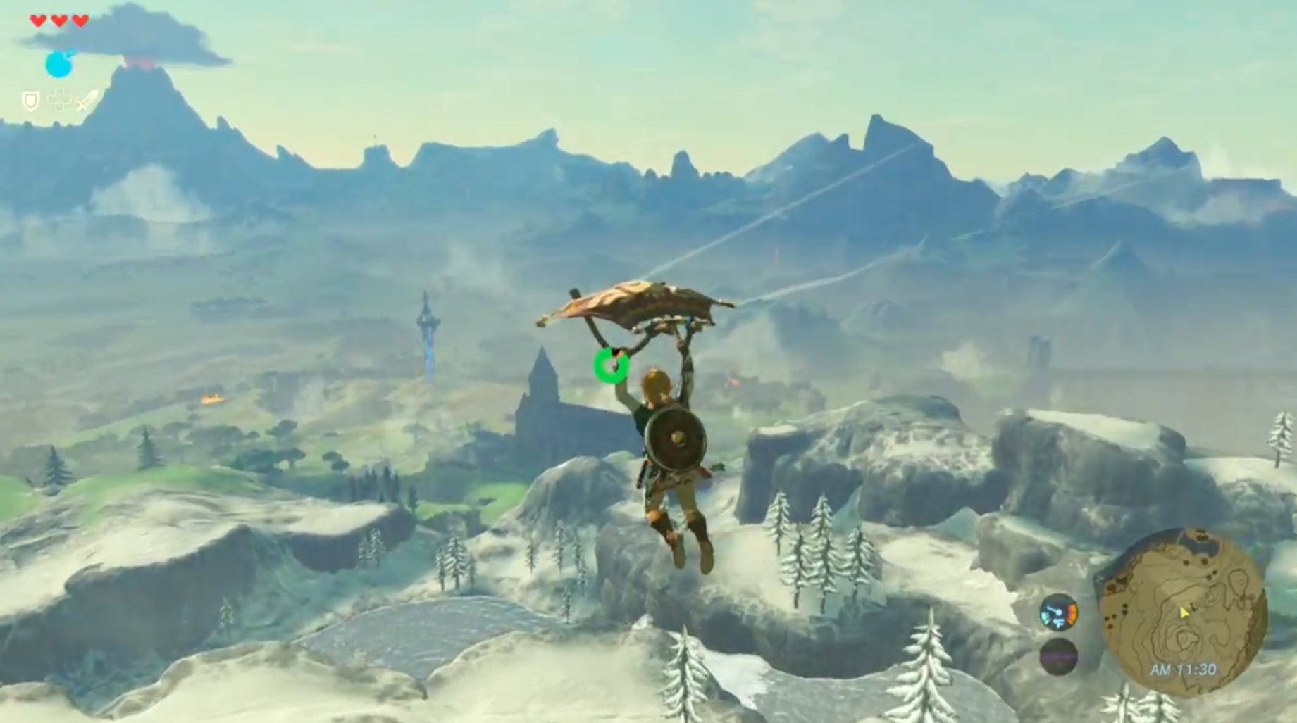 New Zelda Breath Of The Wild Video Shows Link Exploring