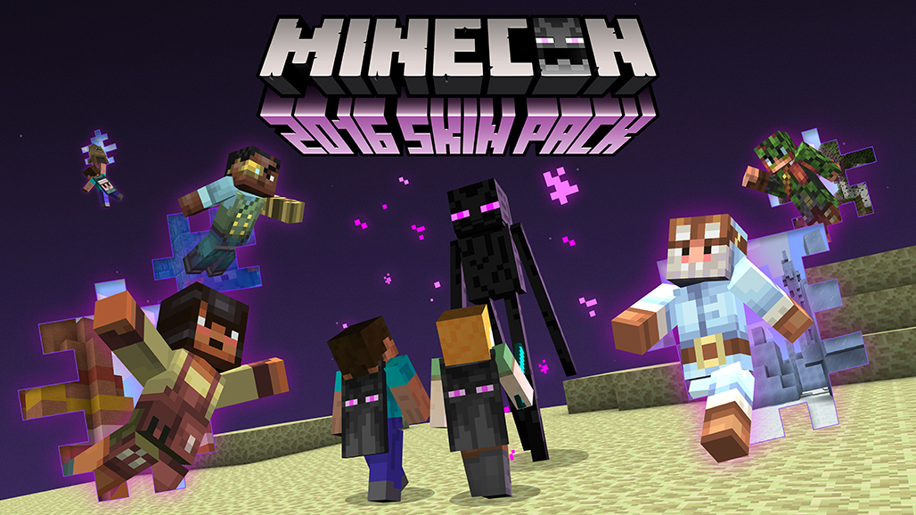 MINECON Skins For Minecraft Wii U Edition Releasing Tomorrow - Skins para minecraft quick