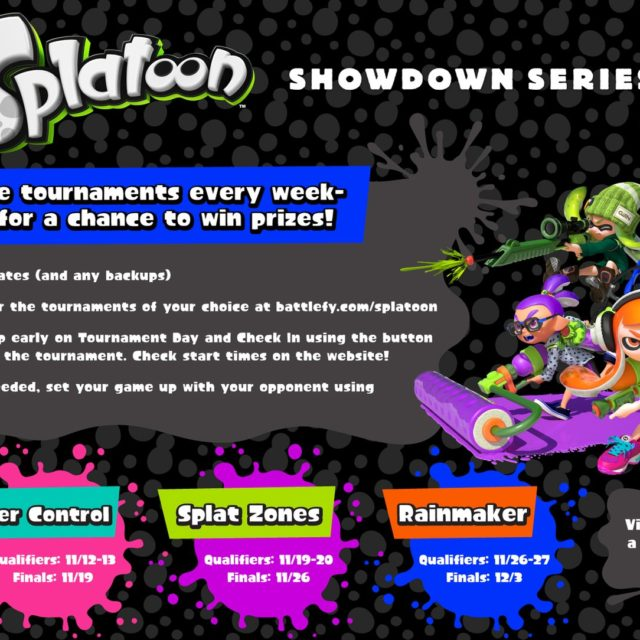 splatoon showdown series