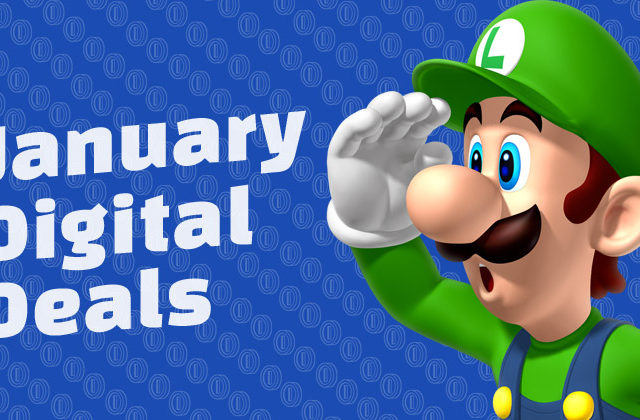 january digital deals 3ds wii u