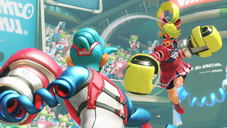 arms nintendo switch screenshot
