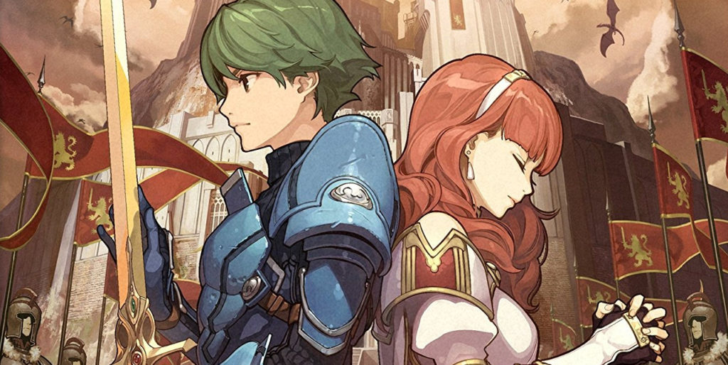 background fire emblem echoes shadows of valentia 3ds