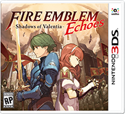 Fire Emblem Echoes Shadows of Valentia box art