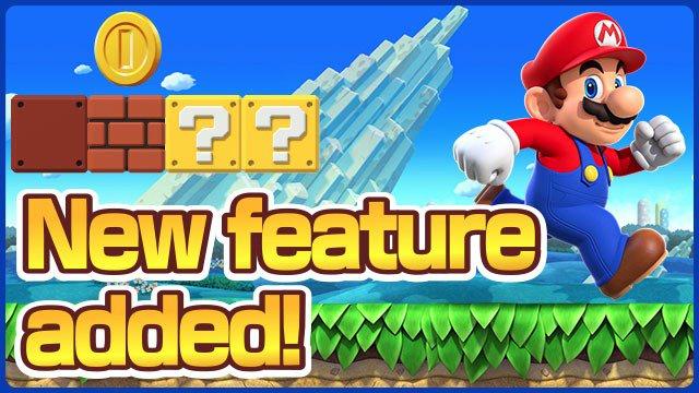 update for Super Mario Run