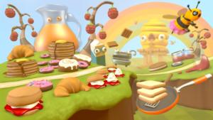 Runner 3 Screenshot Foodland