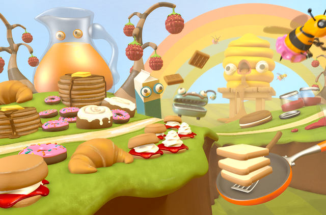 Runner 3 Screenshot Foodland